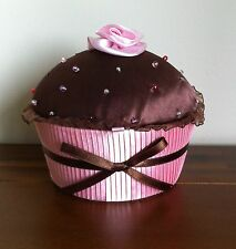 Cupcake Pale Pink Base Material Jewellery Box/Case Girl/Female/Mothers Day Gift