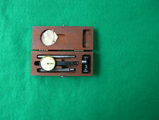 Brown And Sharpe Model ONE Horizontal Indicator In Wood Case