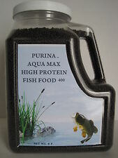 "Purina Aqua Max 400 High Protein Fish Food 3/32"""