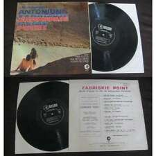 PINK FLOYD/GRATEFUL DEAD-Zabriskie Point LP Psych OST 1970