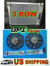 3ROW ALUMINUM RADIATOR 71-88 CHEVY/OLDS/PONTIAC SMALL BLOCK SBC l6/V6 + fan