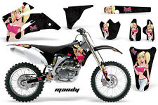 AMR Racing Yamaha YZ 250F/450F Graphic Kit Bike Decals MX Parts 06-13 MANDY PINK