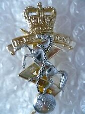 Staybrite- REME Royal Army Mechanical Engineers Cap Badge,QC FIRMIN (A/A 100%ORG