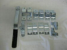 Trailer Zinc Plate Door Bar Lock Cam Assembly  Enclosed Trailer Cargo Swing Gate