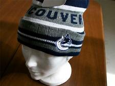 VANCOUVER CANUCKS MENS LICENSED TOQUE NEW W/ TAGS