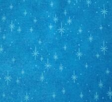 Creating New Traditions by Fabric Traditions BTY Stars on Glittery Blue