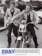 Motorcycle Champ Mike Bast James Caan VINTAGE Photo Freebie And The Bean