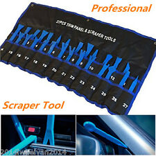 27pc Car Panel Audio GPS Trim Moulding Removal Install Bodyshop Scraper Pro Tool