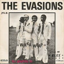 """45 TOURS / 7"""" SINGLE--THE EVASION--WIKKA WRAP / ALL WRAPPED UP--1981"""