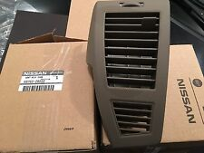 2005-2006 Nissan Altima Instrument Panel Dash Vent Grille Right Oem RH Tan New !