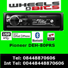 PIONEER DEH-80PRS CD MP3 Stereo Doppelt USB Aux Kassetten Bluetooth iPod