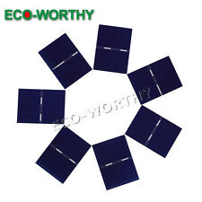 40pcs 52x38mm Solar Cells for DIY 10W Poly Solar Panel Education Kit Gift