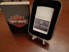 HARLEY DAVIDSON AGE 207HD.H321 ZIPPO LIGHTER MINT IN BOX