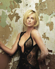 CHARLIZE THERON 8X10 PHOTO PICTURE PIC HOT SEXY LACE LINGERIE 26