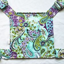 1 Baby Doll Carrier Mei Tai Sling Toy Kids Children Toddler Front Back Paisley