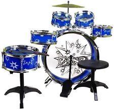 Kinder Baby Spielzeug Schlagzeug GROSSE Trommel Musikinstrument mit Stuhl NEU