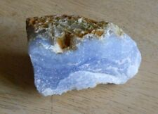 Blue Lace Agate Natural Rough Crystal. b7