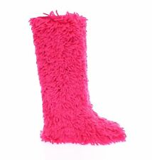 NWT $1350 DOLCE & GABBANA Pink Wool Runway Boots Shoes Stivali s. EU38 / US7.5
