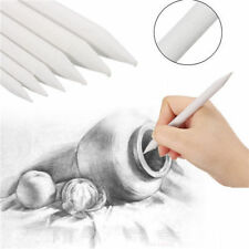 6X White Blending Smudge Tortillon Stump Sketch 6 Sizes Art Drawing pen Tool