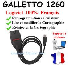 GALLETTO 1260 EOBD Logiciels ECUSAFE VOLTA - Reprogrammation calculateur moteur