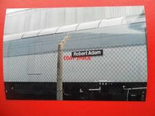 PHOTO  NAMEPLATE - ROBERT ADAM CLASS 60 LOCO NO 60007
