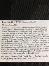 m1-3 1984 ephemera small article the Pub Hole In The Wall Waterloo P Burke