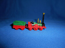 ADLER 1835 British Antique STEAM COAL TRAIN Engine Plastic Toy Kinder Surprise