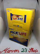 24x Bahlsen Leibniz Pick Up Choco Biscuits ,fresh from Germany free shipping