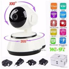 WIFI Webcam Wireless Pan Tilt 720 P Security Network CCTV IP Camera Night Vision