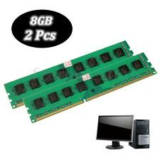 16GB 2x8gb DDR3 1600MHz PC3 12800 240-pin DIMM Memory Module for RAM CPU Desktop