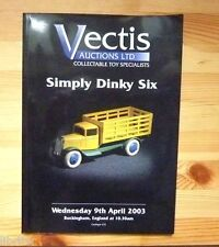 Voitures miniatures  Catalogue vente  Vectis   Dinky six avril 2003