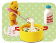 Re-ment Miniature#96  cooking vegetable stew teddy bear