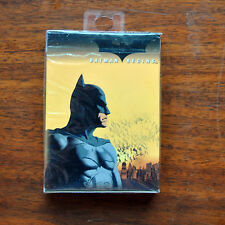 DC Batman Begins playing cards  New AS IS  MIB