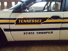 Tennessee Highway Patrol State Trooper 1 18 scale diecast Chevy Impala Police