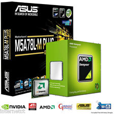 AMD 145 CPU ASUS M5A78L-M PLUS USB3 mATX MOTHERBOARD GAMING UPGRADE BUNDLE