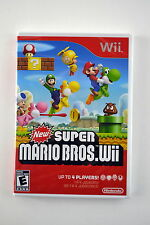 New Super Mario Bros Nintendo Wii  Brand New & Factory Sealed!
