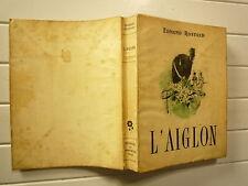 1946 L'AIGLON DE EDMOND ROSTAND CHEZ PANTHEON DRAME EN 6 ACTES NUMEROTÉ  BROCHE