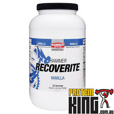 HAMMER NUTRITION RECOVERITE 1.5KG VANILLA PROTEIN ENERGY POST WORKOUT RECOVERY