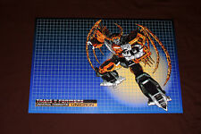 Transformers G1 Unicron custom box art poster / art print 80's toy planet