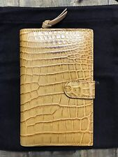 Authentic Bottega Veneta Continental Wallet (CROCODILE/NAPPA)