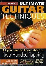 LICK LIBRARY ULTIMATE GUITAR TECHNIQUES TWO HANDED TAPPING Learn to Play Pop DVD