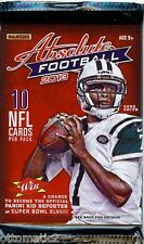 """2013 PANINI ABSOLUTE FOOTBALL RELIC OR AUTO RETAIL """"HOT PACK"""""""