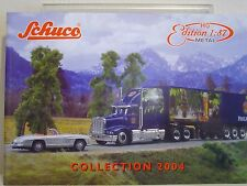 SCHUCO HO EDITION 1:87 COLLECTION, 2004 CATALOGUE