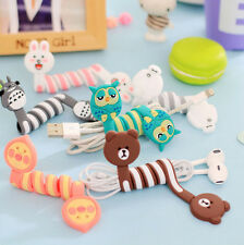 Cute Cartoon Cable Lan HDMI Wire Cord Clip Organizer Tie Fixer Holder 1PCS