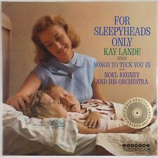 KAY LANDE: For Sleepyheads Only SEALED USA Columbia Jazz Easy Listening LP