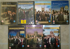 DOWNTOWN ABBEY DVD BOXSETS JOB LOT SERIES 1-5 & X2 CHRISTMAS SPECIALS