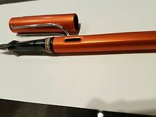 LAMY AL-Star Star burned orange copper fountain pen choice of nib and converter.