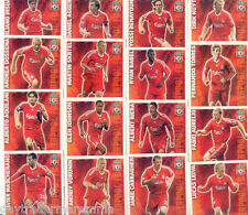 2009/2010 Topps Match Attax Liverpool common team set + Manager