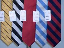 Best Lot of 5 PCS Silk Woven Neckties Tie Assorted Mens New NWT Super Deal