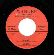JERSEY DOO-WOP-BLENDERS-WANGER-189-ANGEL/OLD MAC DONALD